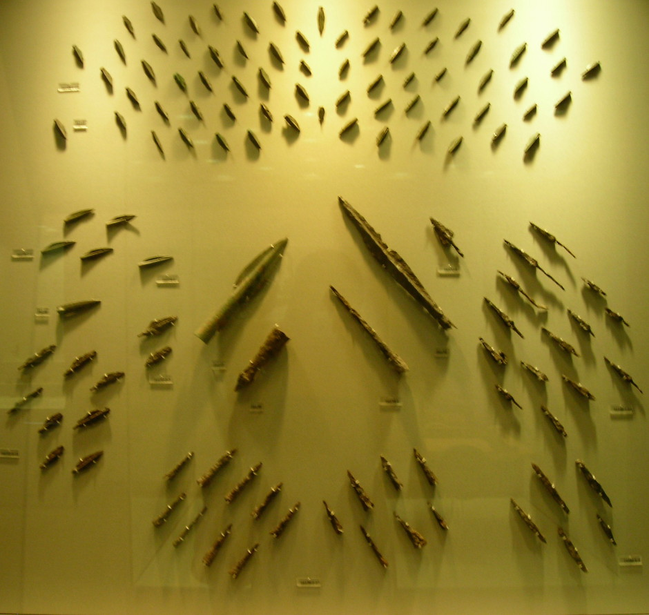 Thermopylae Battle ArrowHeads Athens Museum